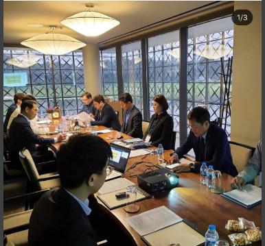 Lễ ký kết hợp tác chiến lược giữa tỉnh Gangwon với Cotra Việt - Hàn, Icon và Asean Healthcare